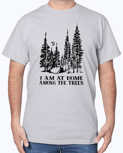 I Am At Home Among The Trees Shirts - Bewished Online clothing shop