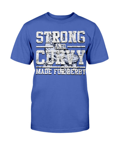 Strong And Curvy - Made For Derby Shirts - Bewished Online clothing shop
