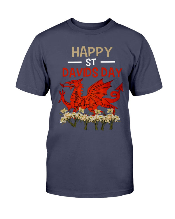 Happy St Davids Day Shirts - Bewished Online clothing shop