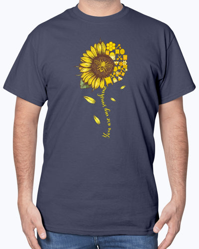 Beekeeper Sunflower Ladies Shirts - Bewished Online clothing shop