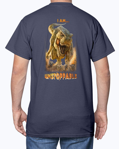 T-Rex Unstoppable Dino Shirts - Bewished Online clothing shop