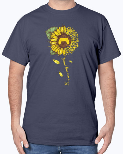 Love Is My Game Sunflower Shirts - Bewished Online clothing shop