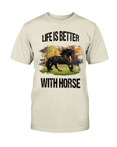 Life Is Better With Horse Shirts - Bewished Online clothing shop