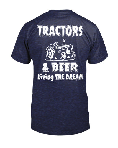 Tractor and Beer Classic Shirts - Bewished Online clothing shop