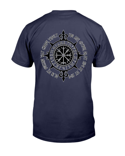 You Are Either On My Side By My Side Viking Shirts - Bewished Online clothing shop