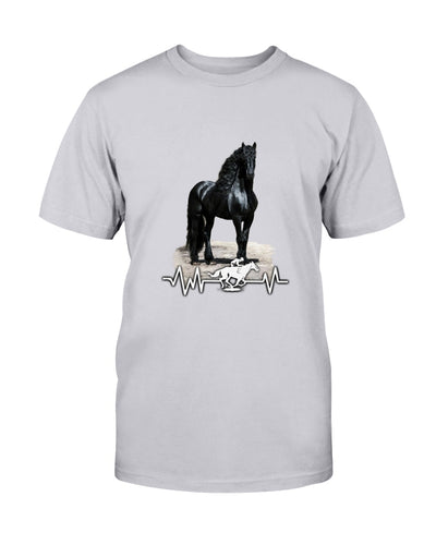 Friesian Black Horse Shirts - Bewished Online clothing shop