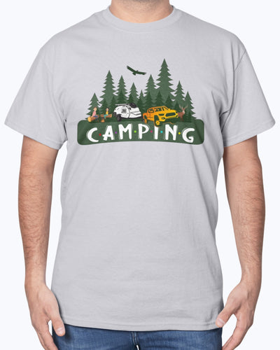 Happy Camping With Friends Shirts - Bewished Online clothing shop