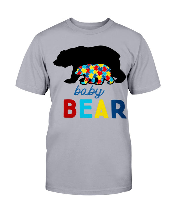 Autism Bear Baby Shirts