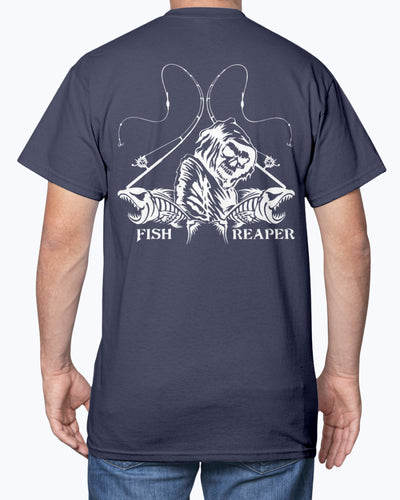 Fish Reaper Skull Shirts - Bewished Online clothing shop