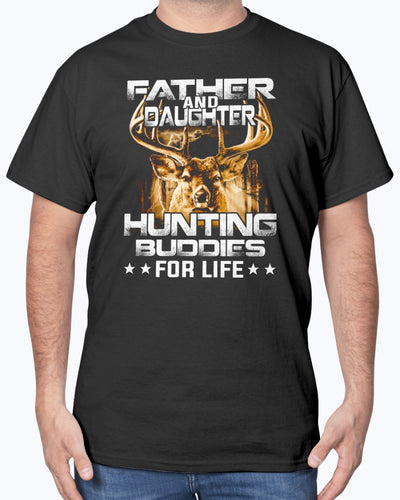 Father And Daughter Hunting Buddies For Life Shirts - Bewished Online clothing shop