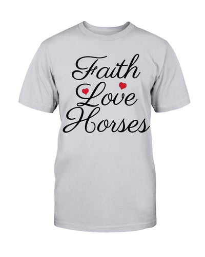 Faith Love Horses Shirts - Bewished Online clothing shop