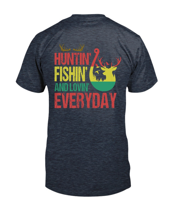 Hunting Fishing And Loving Everyday Shirts - Bewished Online clothing shop