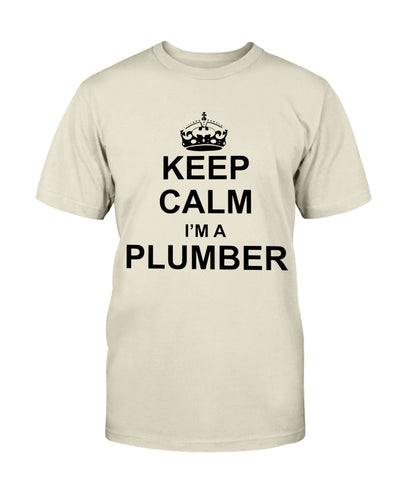 Keep Calm. I'm a Plumber Shirts - Bewished Online clothing shop