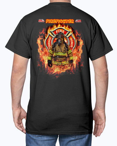 Firefighter And Bravery Shirts - Bewished Online clothing shop
