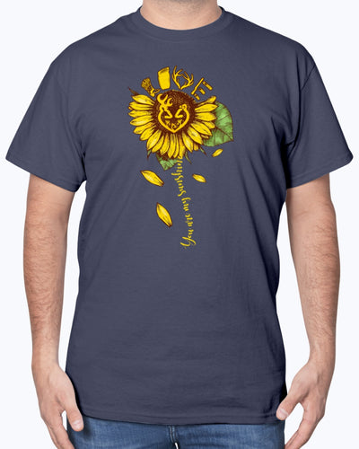 Country Girl Sunflower Ladies Shirts - Bewished Online clothing shop