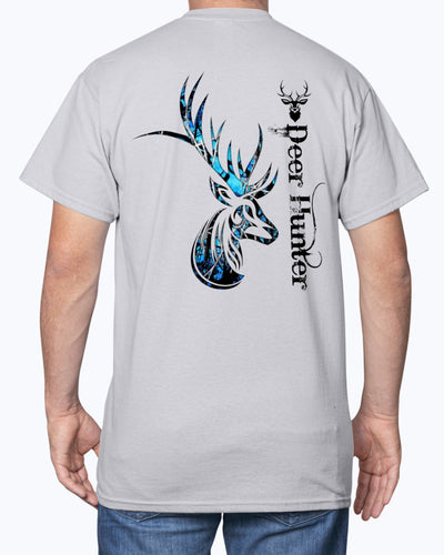 Deer Hunting Camo Blue Shirts - Bewished Online clothing shop