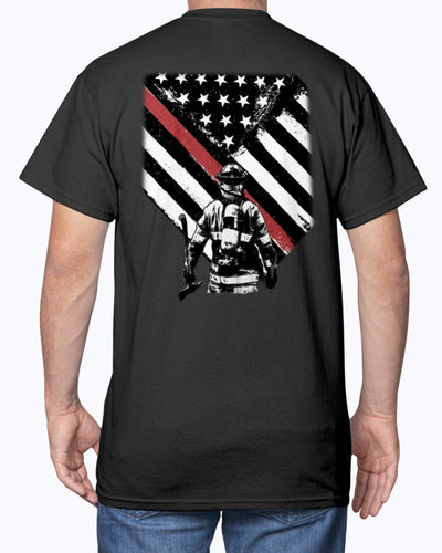American Flag Firefighter Shirts - Bewished Online clothing shop