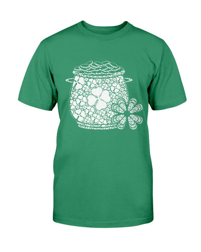 Saint patricks day pot and gold Shamrock Shirts - Bewished Online clothing shop