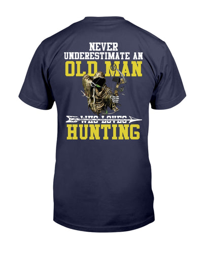 Never Underestimate An Old Man Who Go Hunting Shirts - Bewished Online clothing shop
