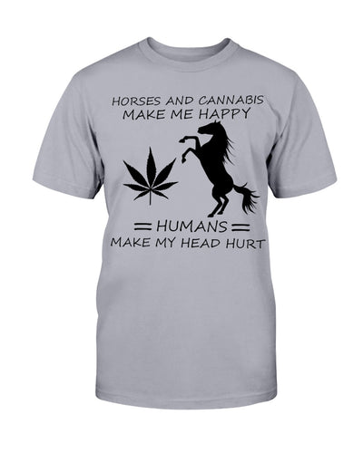 Horse And Cannabis Shirts - Bewished Online clothing shop