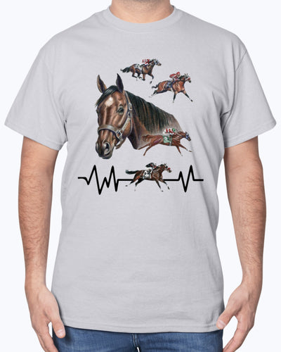 Beautiful Horse Racing Shirts - Bewished Online clothing shop