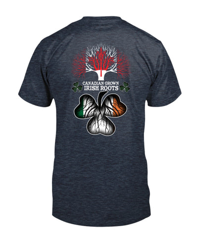 Canadian Grown Irish Roots Shirts - Bewished Online clothing shop