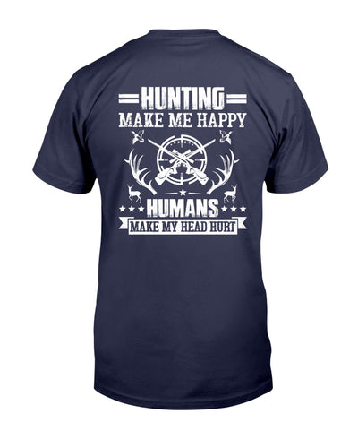 Hunting Make Me Happy Shirts - Bewished Online clothing shop