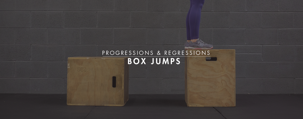 Progressions & Regressions: Box Jumps