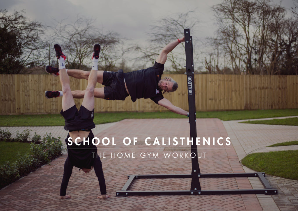 SCHOOL OF CALISTHENICS: The Home Gym Workout