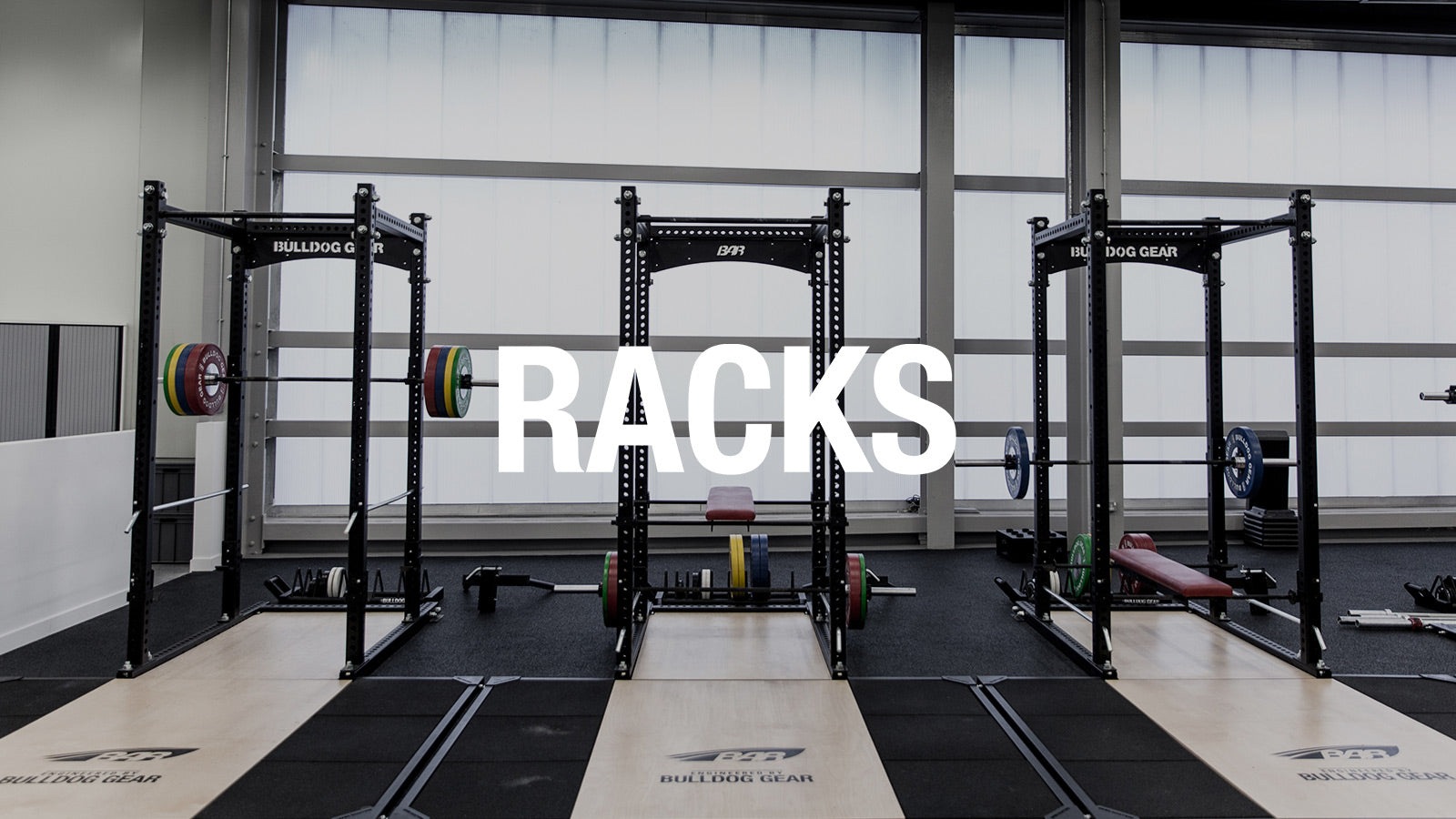 Racks crossfit gym equipment