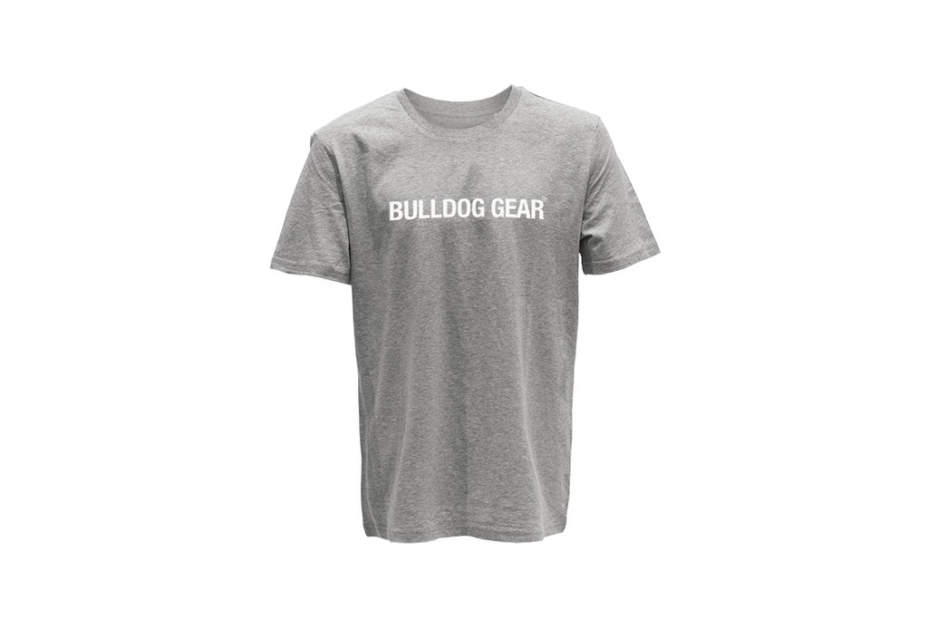 Bulldog Gear Tee - Heather Grey - Unisex