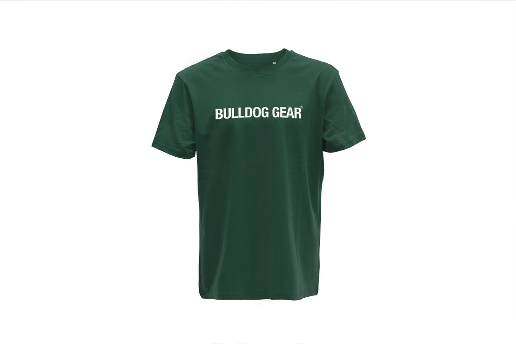 Bulldog Gear Tee - Dark Green - Unisex