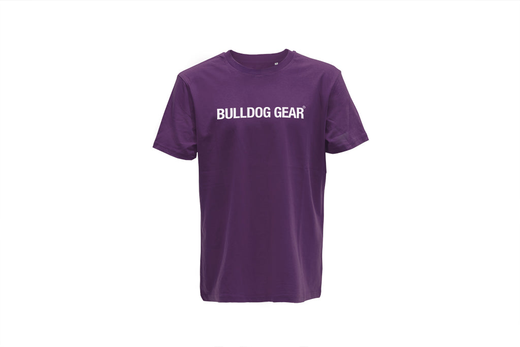 Bulldog Gear Tee - Purple - Unisex