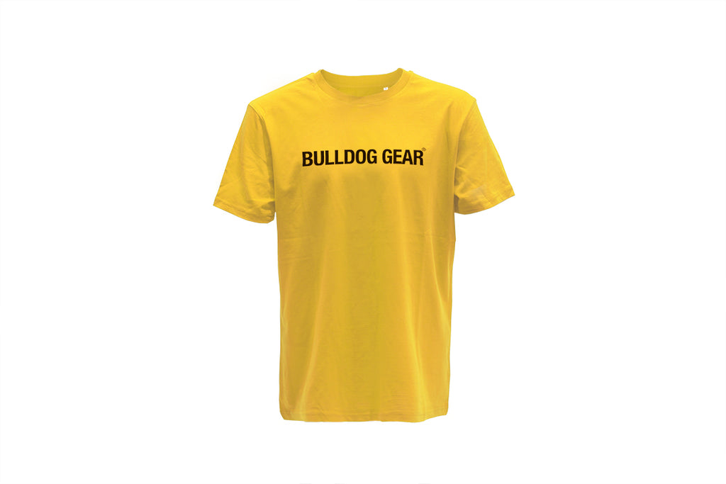 Bulldog Gear Tee - Yellow - Unisex