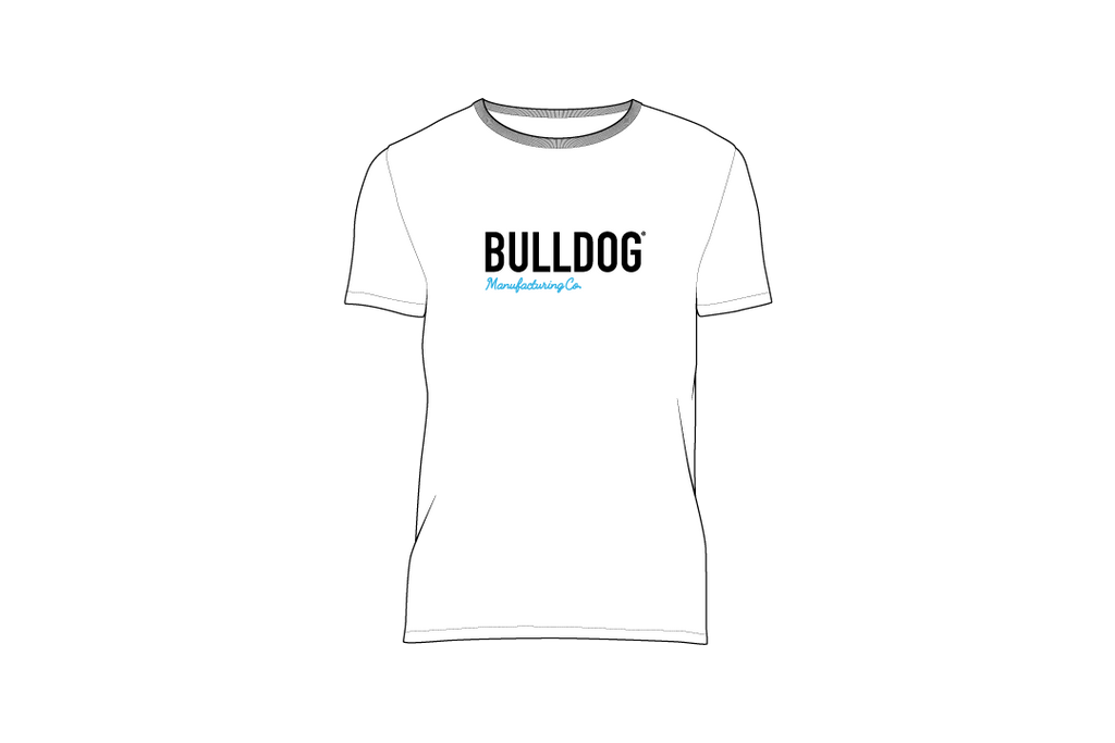 Bulldog Manufacturing Co. Tee - White - Unisex