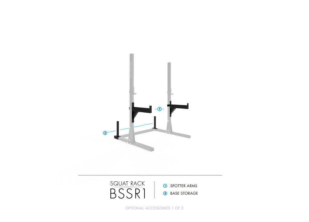 BSSR1 Bulldog Series Squat Rack