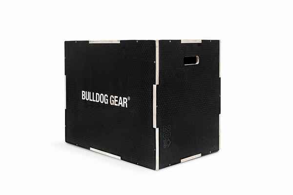 Bulldog Gear – Black 3 in 1 Plyobox Black: Pre-Order