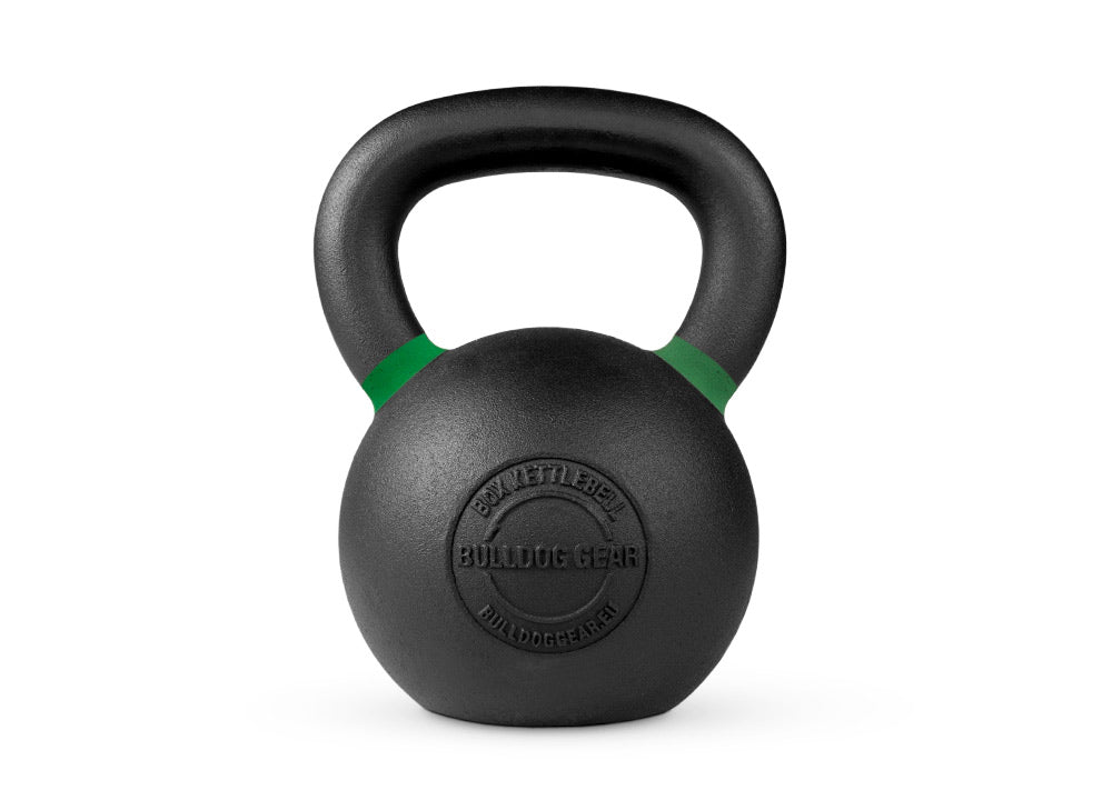 Bulldog Gear 24kg box kettlebell side view