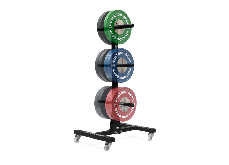 Vertical Bumper Plate Tree