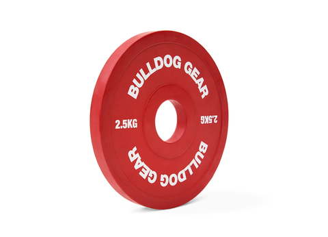 Bulldog Competition Fractional Plates