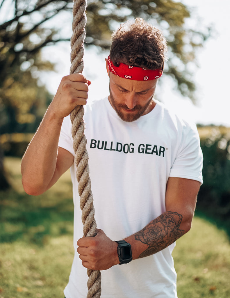 Bulldog Gear Tee - White - Unisex