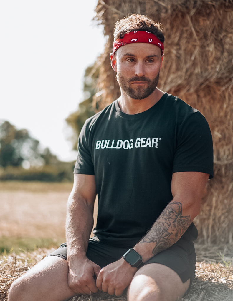 Bulldog Gear Tee - Black - Unisex