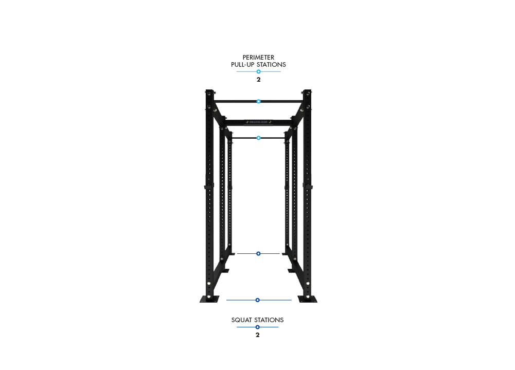 MLPR1 - 1040D Mammoth Lite Power Rack Dual 1040