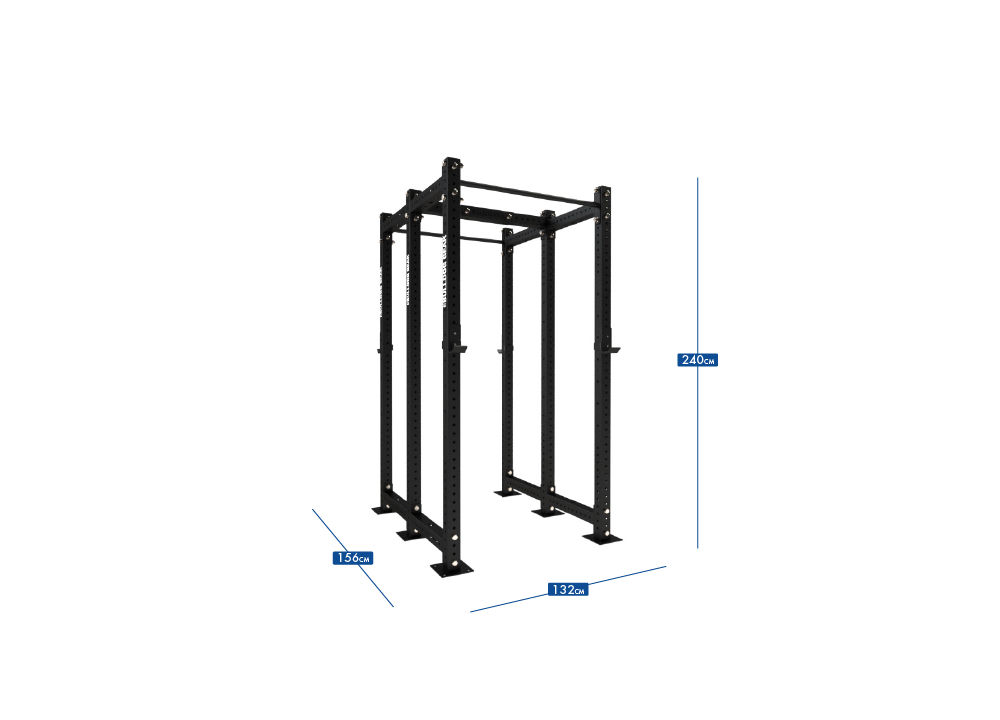 MLPR1 - 600D Mammoth Lite Power Rack Dual 600
