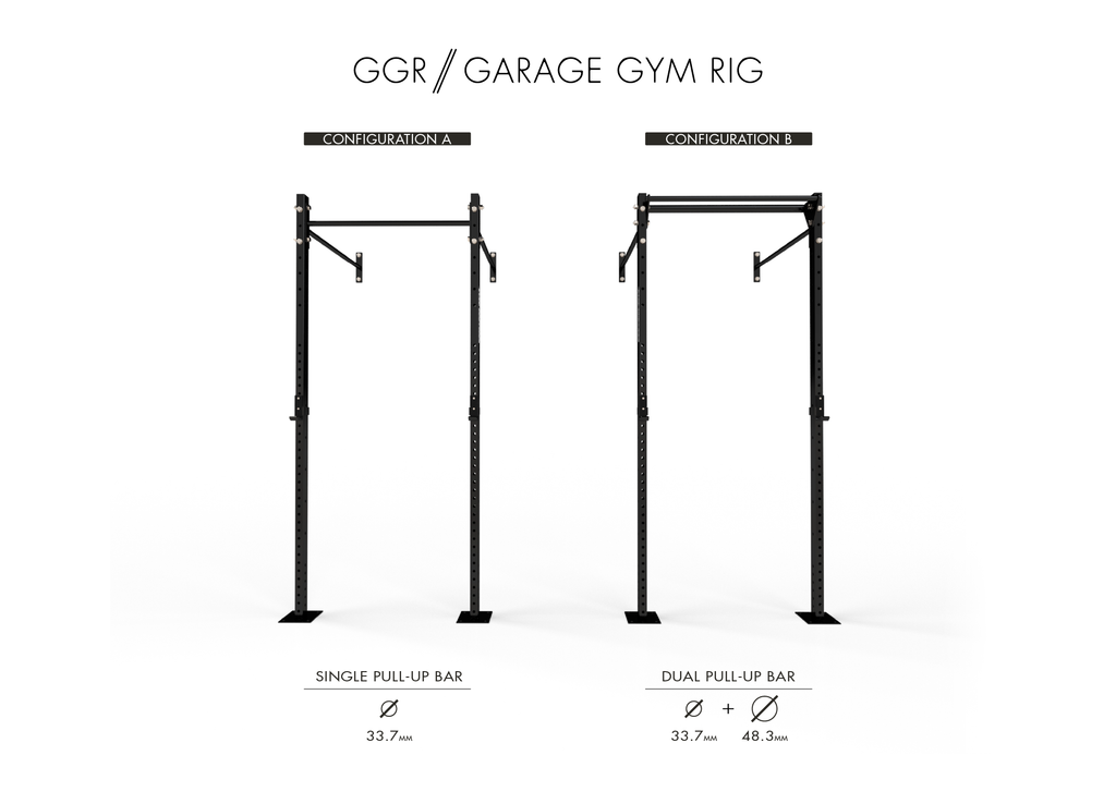 Garage Gym - Wall Mounted Rig
