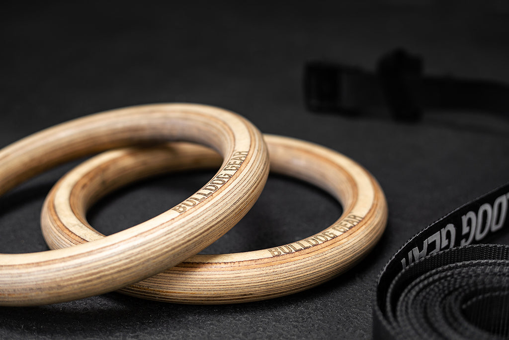 Wooden Gymnastic Rings 2.0