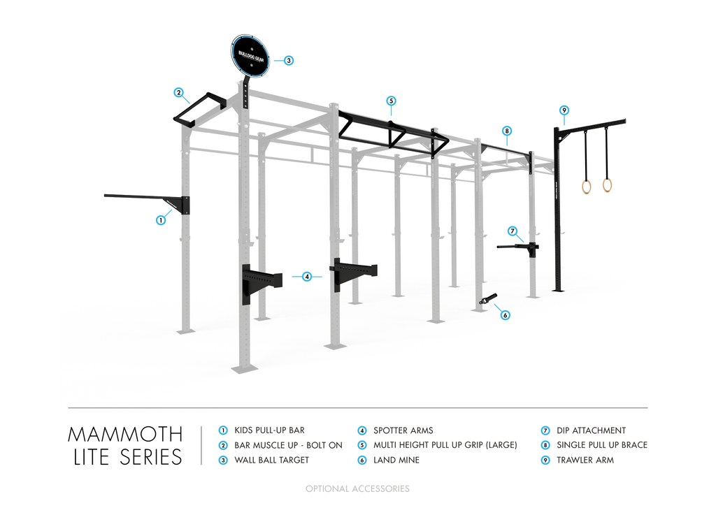 ML305 - Mammoth Lite Wall Rig