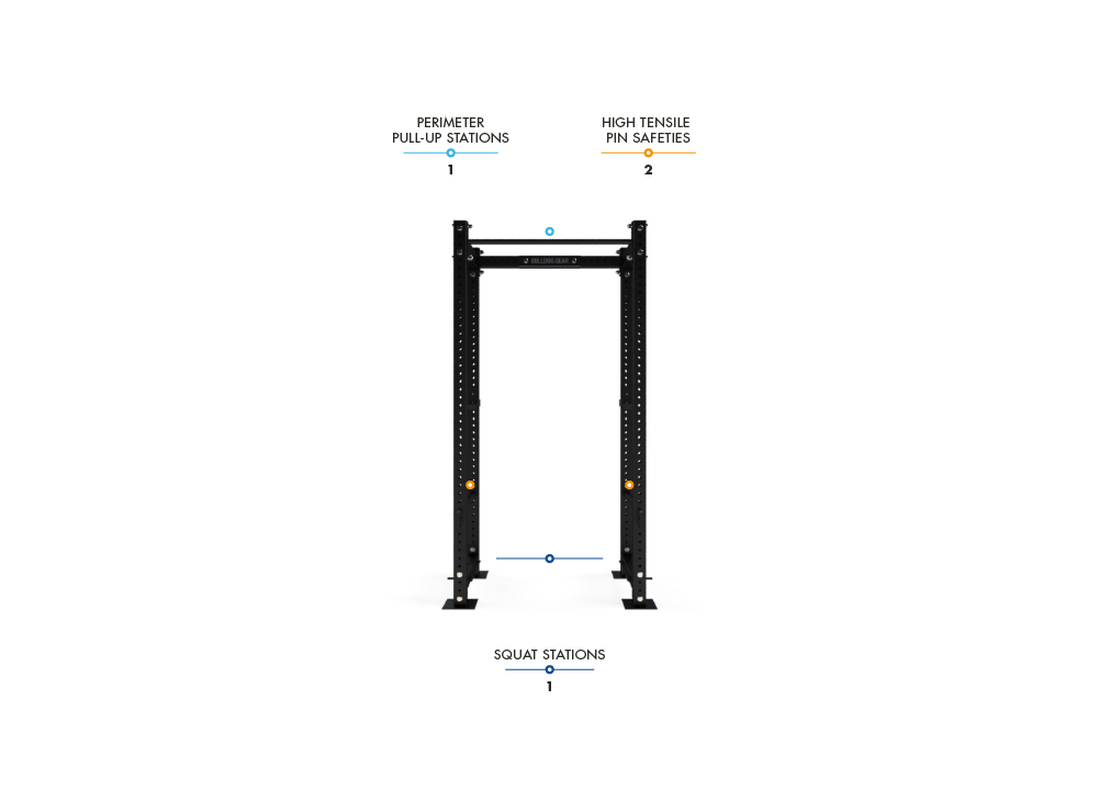 MLPR1 - 600 Mammoth Lite Power Rack