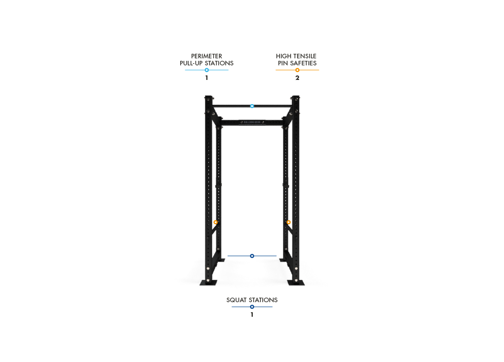 MLPR2 Mammoth Lite Power Rack