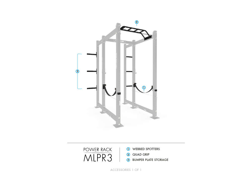 MLPR3 Mammoth Lite Power Rack